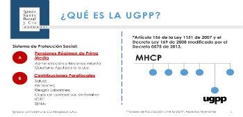 Procesos de fiscalización ante la UGPP
